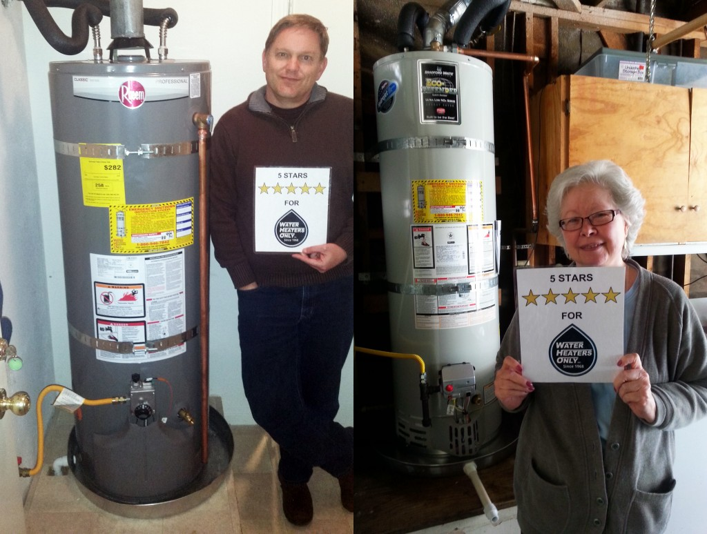 Happy Water Heater Customer Sac