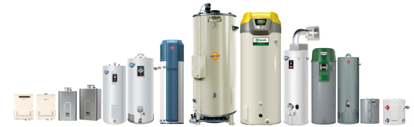 Water Heater Brands Photos